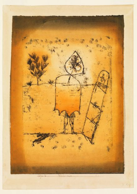 Klee, Paul: Winter Journey. Fine Art Print/Poster (5006)